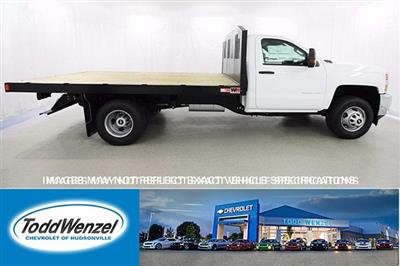 2017 Silverado 3500 Regular Cab DRW 4x4,  Monroe Work-A-Hauler II Platform Body #SH72269 - photo 1
