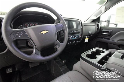 2017 Silverado 3500 Regular Cab DRW 4x4,  Monroe Work-A-Hauler II Platform Body #SH72269 - photo 9