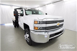 2017 Silverado 3500 Regular Cab DRW 4x4,  Monroe Work-A-Hauler II Platform Body #SH72269 - photo 3