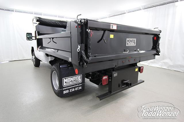 2018 Silverado 3500 Regular Cab DRW 4x4,  Monroe MTE-Zee Dump Body #SH81278 - photo 6