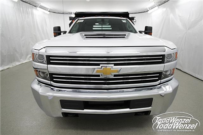 2018 Silverado 3500 Regular Cab DRW 4x4,  Monroe MTE-Zee Dump Body #SH81278 - photo 4