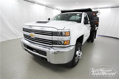 2018 Silverado 3500 Regular Cab DRW 4x4,  Monroe MTE-Zee Dump Body #SH81278 - photo 5