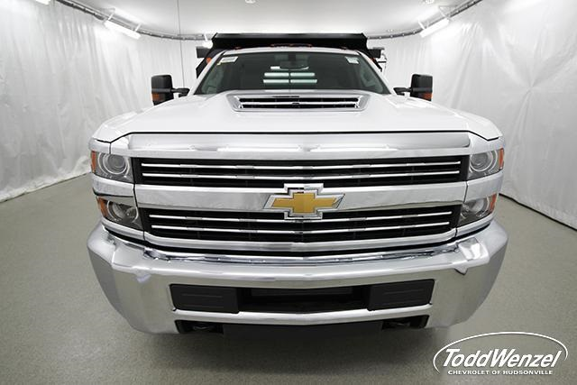 2018 Silverado 3500 Regular Cab DRW 4x2,  Monroe Dump Body #SH81404 - photo 6