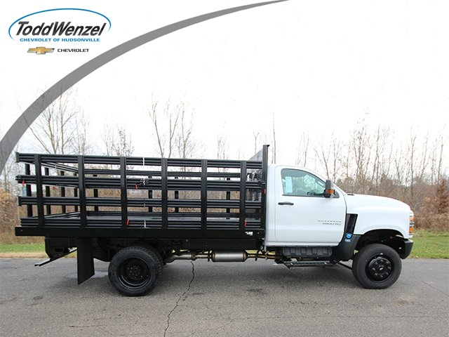2019 Chevrolet Silverado 5500 Regular Cab DRW 4x4, Reading Stake Bed #SH91850 - photo 1
