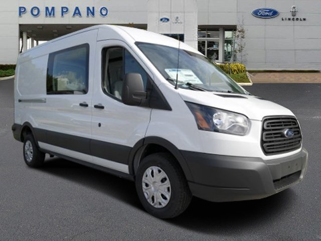2017 Transit 350 Medium Roof, Cargo Van #HKA70802 - photo 4