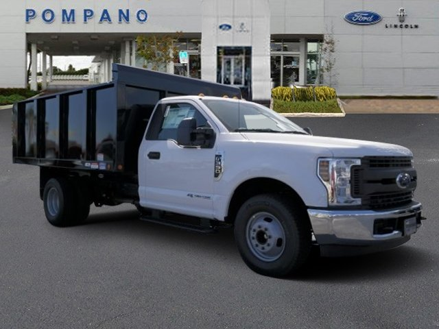 2018 F-350 Regular Cab DRW 4x2,  Landscape Dump #JEB54028 - photo 4