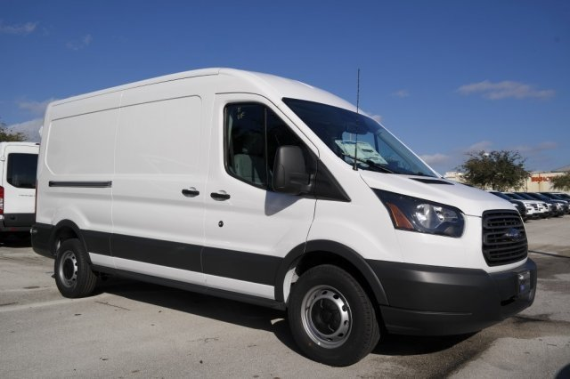 2018 Transit 250 Med Roof 4x2,  Weather Guard Upfitted Cargo Van #JKA09323 - photo 8