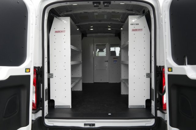2018 Transit 250 Med Roof 4x2,  Weather Guard Upfitted Cargo Van #JKA09323 - photo 2