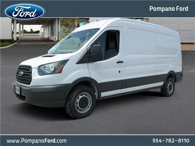 2018 Transit 250 Med Roof 4x2,  Empty Cargo Van #JKA34199 - photo 1