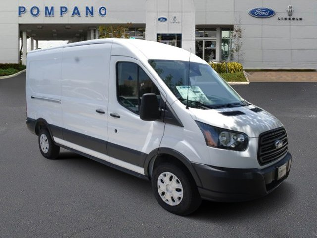 2018 Transit 350 Med Roof 4x2,  Empty Cargo Van #JKB10483 - photo 4