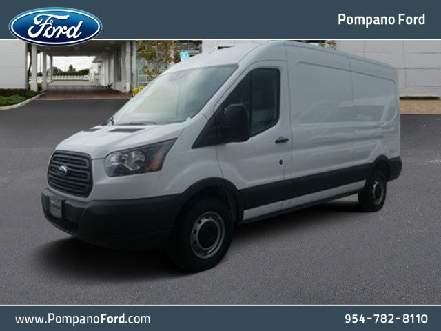 2018 Transit 250 Med Roof 4x2,  Empty Cargo Van #JKB13407 - photo 1