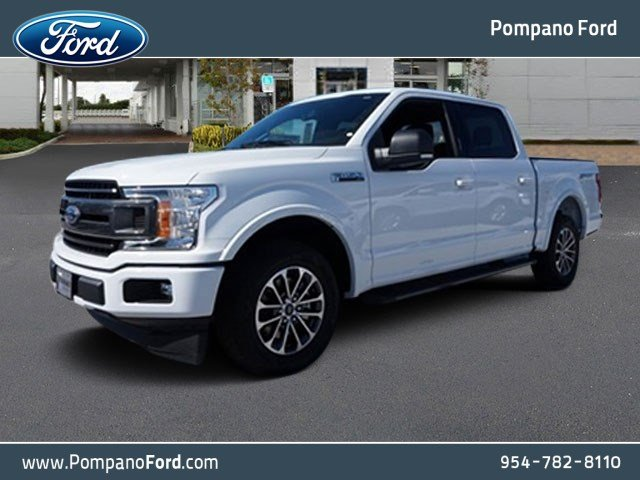 2018 F-150 SuperCrew Cab, Pickup #JKD50316 - photo 1