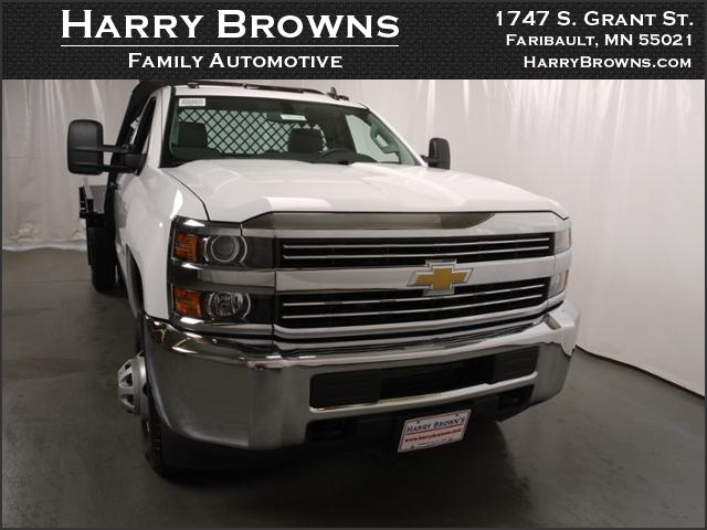 2015 Silverado 3500 Regular Cab 4x4, Knapheide Platform Body #88308 - photo 5