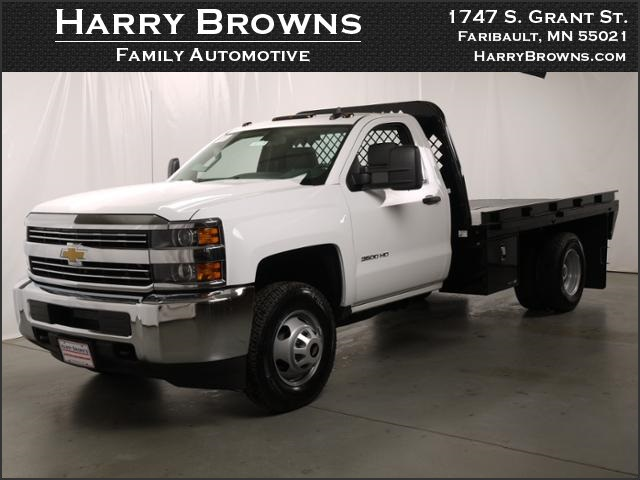 2015 Silverado 3500 Regular Cab 4x4, Knapheide Platform Body #88308 - photo 8