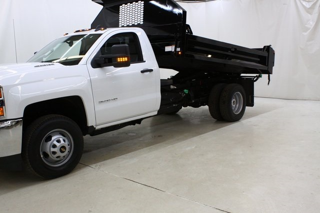 2018 Silverado 3500 Regular Cab DRW 4x4,  Knapheide Drop Side Dump Body #89977 - photo 10