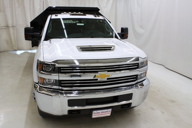 2018 Silverado 3500 Regular Cab DRW 4x4,  Knapheide Drop Side Dump Body #89977 - photo 5