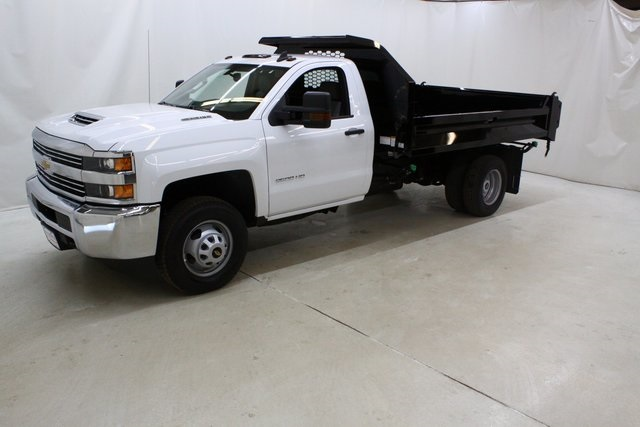 2018 Silverado 3500 Regular Cab DRW 4x4,  Knapheide Dump Body #89977 - photo 8