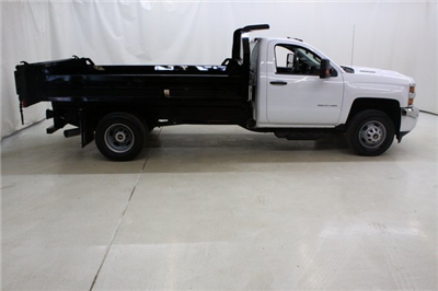 2018 Silverado 3500 Regular Cab DRW 4x4,  Knapheide Drop Side Dump Body #89977 - photo 3