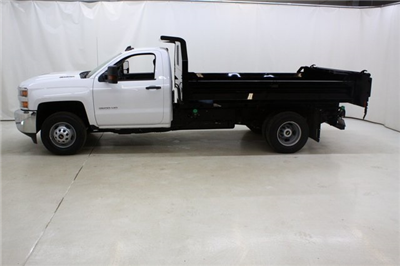 2018 Silverado 3500 Regular Cab DRW 4x4,  Knapheide Drop Side Dump Body #89977 - photo 7