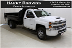 2018 Silverado 3500 Regular Cab DRW 4x4,  Knapheide Drop Side Dump Body #89977 - photo 1