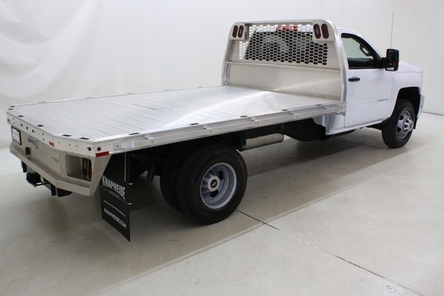 2018 Silverado 3500 Regular Cab DRW 4x4,  Knapheide Platform Body #89998 - photo 2