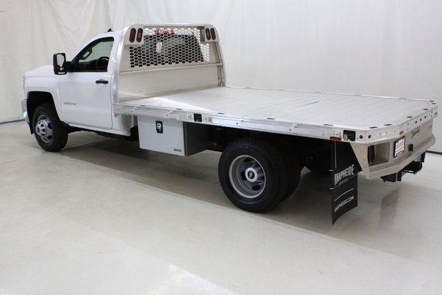 2018 Silverado 3500 Regular Cab DRW 4x4,  Knapheide PGNB Gooseneck Platform Body #89998 - photo 6