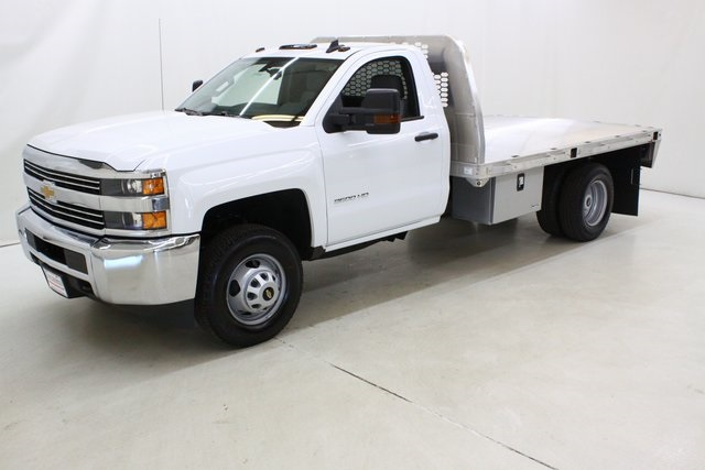 2018 Silverado 3500 Regular Cab DRW 4x4,  Knapheide Platform Body #89998 - photo 8