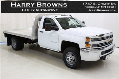 2018 Silverado 3500 Regular Cab DRW 4x4,  Knapheide PGNB Gooseneck Platform Body #89998 - photo 1