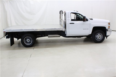 2018 Silverado 3500 Regular Cab DRW 4x4,  Knapheide PGNB Gooseneck Platform Body #89998 - photo 3