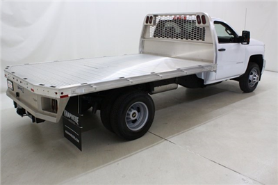 2018 Silverado 3500 Regular Cab DRW 4x4,  Knapheide PGNB Gooseneck Platform Body #89998 - photo 2