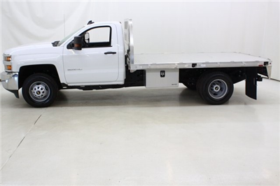 2018 Silverado 3500 Regular Cab DRW 4x4,  Knapheide PGNB Gooseneck Platform Body #89998 - photo 7
