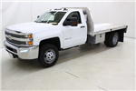 2018 Silverado 3500 Regular Cab DRW 4x4,  Knapheide PGNB Gooseneck Platform Body #89998 - photo 8