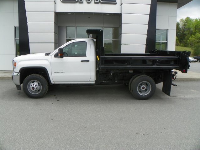 2015 Sierra 3500 Regular Cab 4x4, Air-Flo Dump Body #G5359 - photo 5