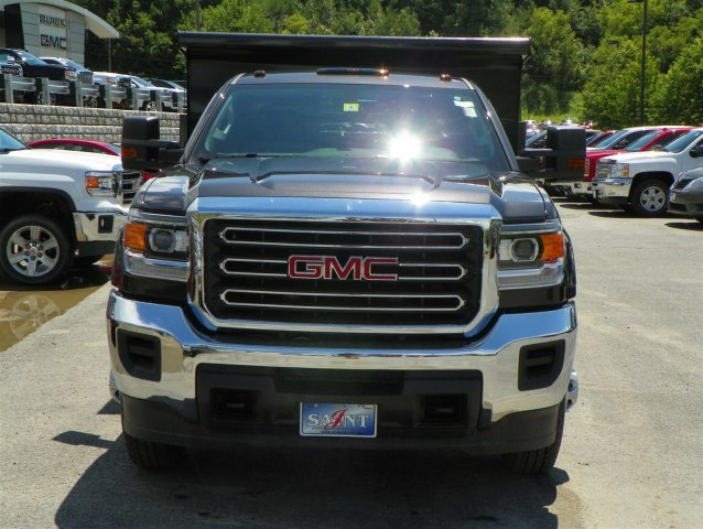 2016 Sierra 3500 Regular Cab 4x4, Dump Body #G6516 - photo 3