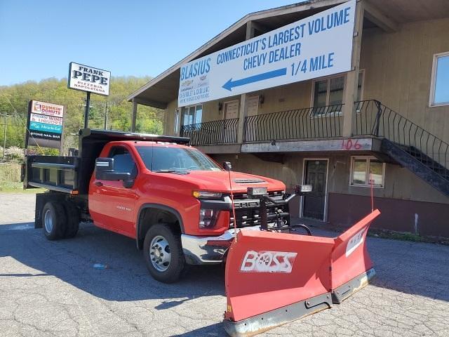 2020 Chevrolet Silverado 3500 Regular Cab DRW 4x4, Air-Flo Dump Body #TR4695T20 - photo 1