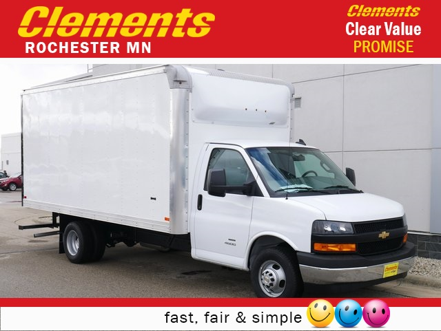 2019 Chevrolet Express 4500 4x2, Knapheide Cutaway Van #N2629 - photo 1