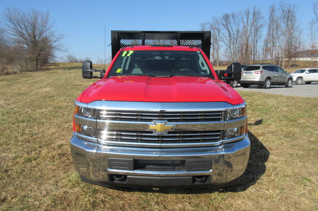 2017 Silverado 3500 Double Cab 4x4, Knapheide Stake Bed #B11444 - photo 4