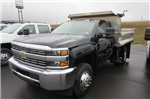 2017 Silverado 3500 Regular Cab 4x4, Crysteel Dump Body #B11626 - photo 1