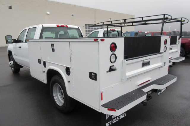 2017 Silverado 3500 Crew Cab 4x4, Knapheide Service Body #B11691 - photo 2