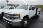 2017 Silverado 3500 Crew Cab 4x4, Knapheide Service Body #B11691 - photo 1