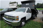 2017 Silverado 3500 Regular Cab 4x4, Rugby Dump Body #B12150 - photo 1