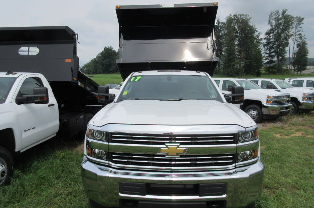 2017 Silverado 3500 Regular Cab 4x4, Galion Dump Body #B12200 - photo 4