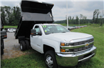 2017 Silverado 3500 Regular Cab DRW 4x4, Galion 100U Dump Body #B12200 - photo 3