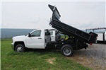 2017 Silverado 3500 Regular Cab DRW 4x4, Galion 100U Dump Body #B12200 - photo 7