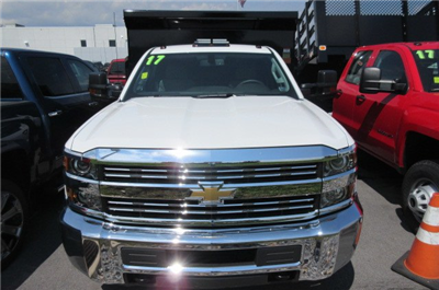2017 Silverado 3500 Regular Cab 4x4, Rugby Eliminator LP Steel Dump Body #B12230 - photo 4