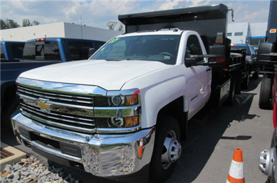 2017 Silverado 3500 Regular Cab 4x4, Rugby Eliminator LP Steel Dump Body #B12230 - photo 1