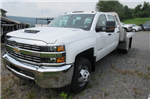2017 Silverado 3500 Crew Cab 4x4, M H EBY Platform Body #B12238 - photo 1