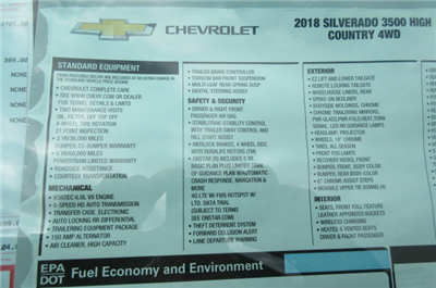 2018 Silverado 3500 Crew Cab 4x4, Pickup #B12822 - photo 33