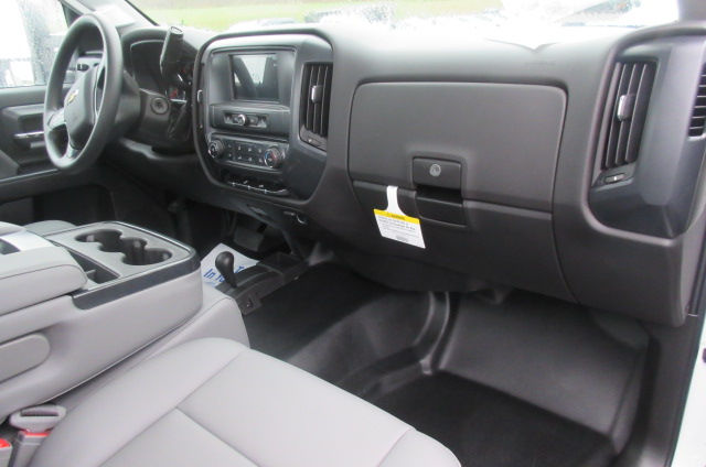 2017 Silverado 3500 Regular Cab DRW 4x4, Reading Classic II Aluminum  Service Body #B12868 - photo 14