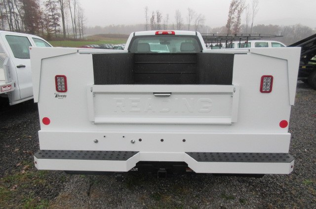 2017 Silverado 3500 Regular Cab DRW 4x4, Reading Classic II Aluminum  Service Body #B12868 - photo 8